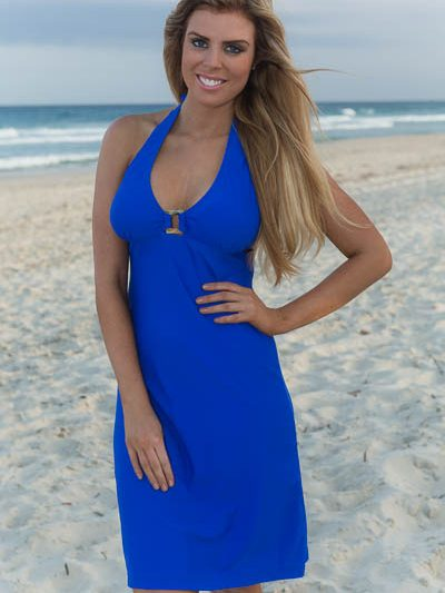 Buckle Swim Dress