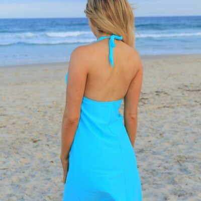 Halter Swim Dress
